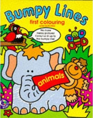 Bumpy Lines First Colouring: Animals