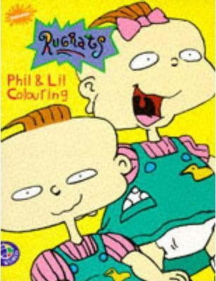 """Rugrats"": Phil and Lil Colouring"