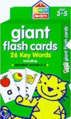 Giant Word Cards: Age 3-5