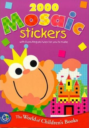 2000 Mosaic Stickers: Purple