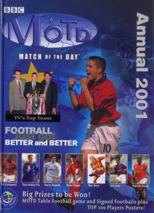 """B.B.C. """"Match of the Day"""" Annual 2001"""