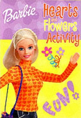 Barbie Hearts and Flowers Activity Pad