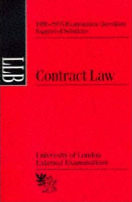Contract Law: Suggested Solutions, June 1991-95