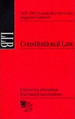 Constitutional Law: Suggested Solutions, June 1991-95