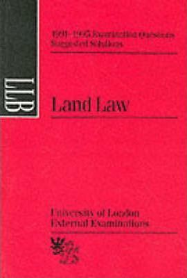 Land Law: Suggested Solutions, June 1991-95