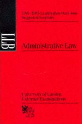 Administrative Law: Suggested Solutions, June 1991-95