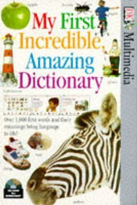 My First Incredible Amazing Dictionary: CD-Rom