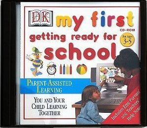 My First Getting Ready for School CD Rom