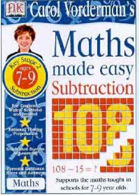 Maths Made Easy Topic Book: Subtraction Workbook