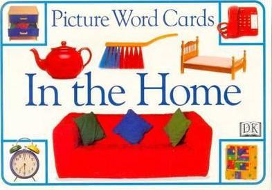 Picture Word Cards: in the House