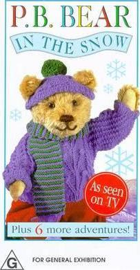 Pyjama Bedtime Bear in the Snow