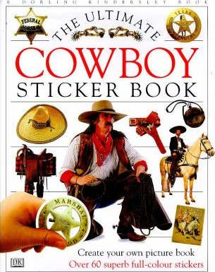Cowboy Ultimate Sticker Book
