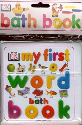 My First Word Bath Book