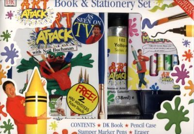 Art Attack Book and Stationery Set