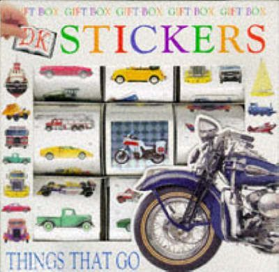 Sticker Activity Book: 10 Things That Go