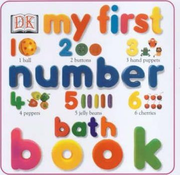 My First Number Bath Book