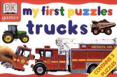 My First Puzzles Trucks