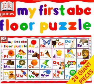 Dk Games: My First ABC Giant Floor Puzzle