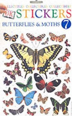 Dk Stickers: Collectibles 7 - Butterflies (Six-Copy Pack)