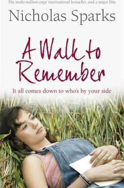 Image result for a walk to remember book