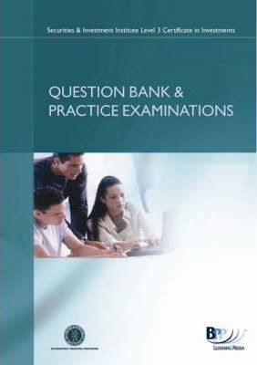 SII - Certificate in Corporate Finance Syllabus version 4  Question Bank and Practice Exams
