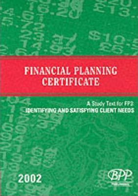 Fpc Fp3: Identifying and Satisfying Client Needs: Study Text (2002)