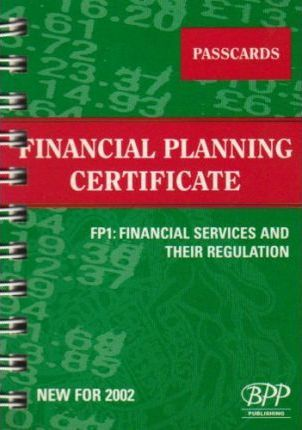 Fpc Fp1: Financial Services and Their Regulations: Passcards (2002)