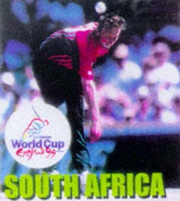 Cricket World Cup: South Africa Team Mini Book