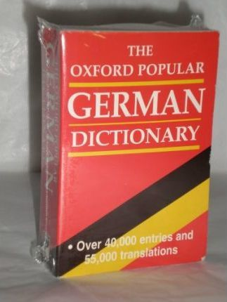 Oxford Popular German Dictionary