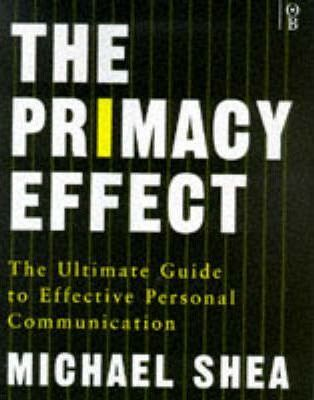 The Primacy Effect