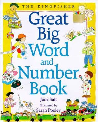 Kingfisher Great Big Word and Number Book