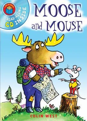 I Am Reading with CD: Moose & Mouse