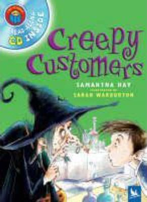 I Am Reading with CD: Creepy Customers