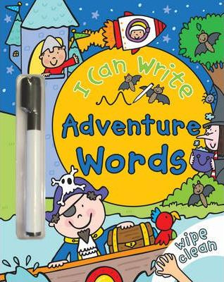 I Can Write: Adventure Words