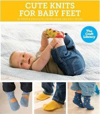 The Craft Library: Cute Knits for Baby Feet