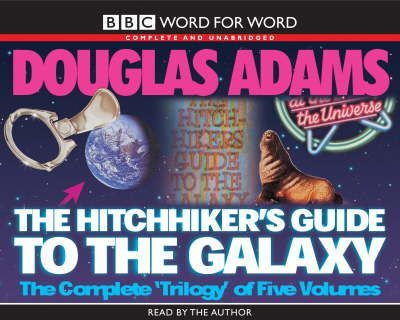 """The Hitch Hiker's Guide to the Galaxy: WITH """"The Restaurant at the End of the Universe"""", """"Life, the Universe and Everything"""", """"So Long, and Thanks for All the Fish"""", """"Mostly Harmless"""""""