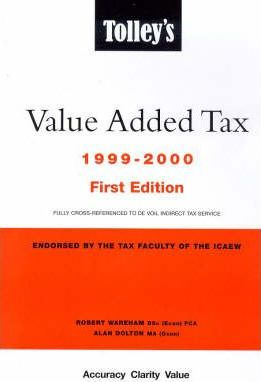 Tolley's Value Added Tax 1999-2000