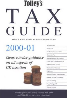 Tolley's Tax Guide 2000-2001