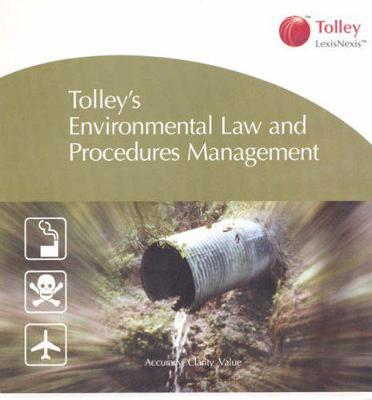 Environmental Law and Procedures Management