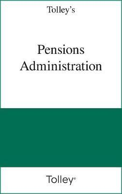 Tolley's Pensions Administration Service: Tolley's Pensions Administration Service Pay-as-you-go Subscription