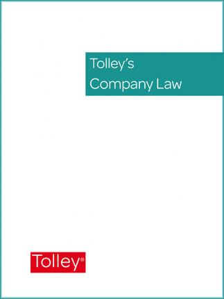 Tolley's Company Law Service