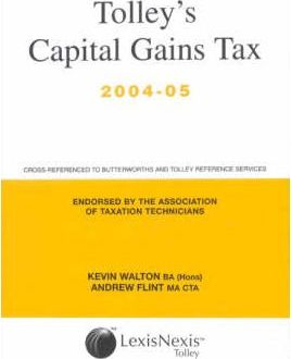 Tolley's Capital Gains Tax and Tax Tutor 2005-06