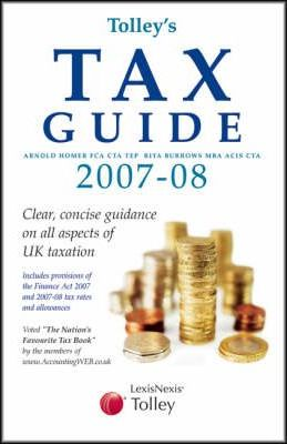 Tolley Tax Guide 2007 / 2008