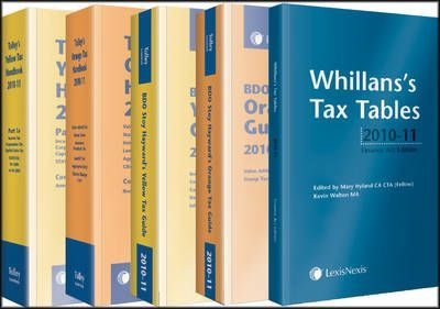 Tolley's Yellow and Orange Tax Reference 2010-11: Set