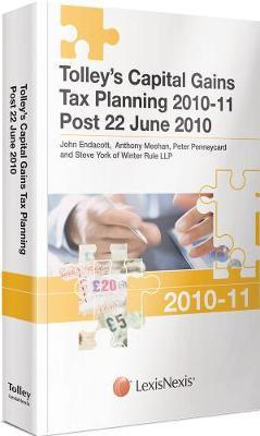 Tolley's Capital Gains Tax Planning 2010-2011