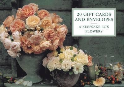 A Keepsake Tin Box Featuring 20 High-Quality Floral Gift Cards and Envelopes