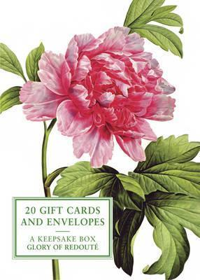 Tin Box of 20 Gift Cards and Envelopes: Glory of Redoute