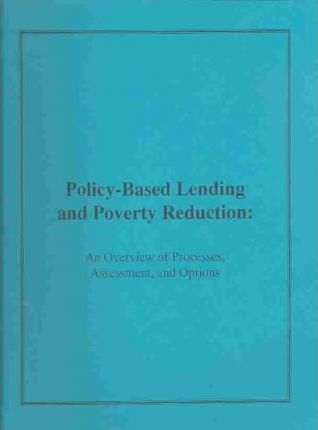 Policy-Based Lending and Poverty Reduction