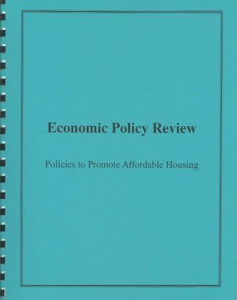 Policies to Promote Affordable Housing