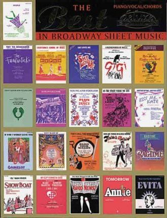 The Best in Broadway Sheet Music